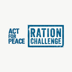 Act for Peace Ration Challenge